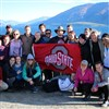 Buckeyes representing Ohio State in Wanaka, New Zealand