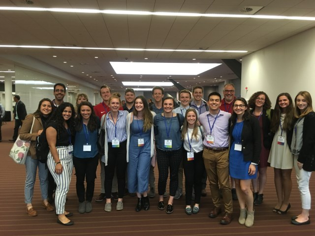 Ohio State Students and Faculty at ASSHE