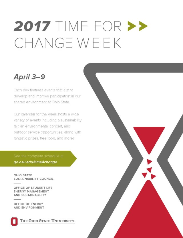 Time for Change Week is April 3-9!